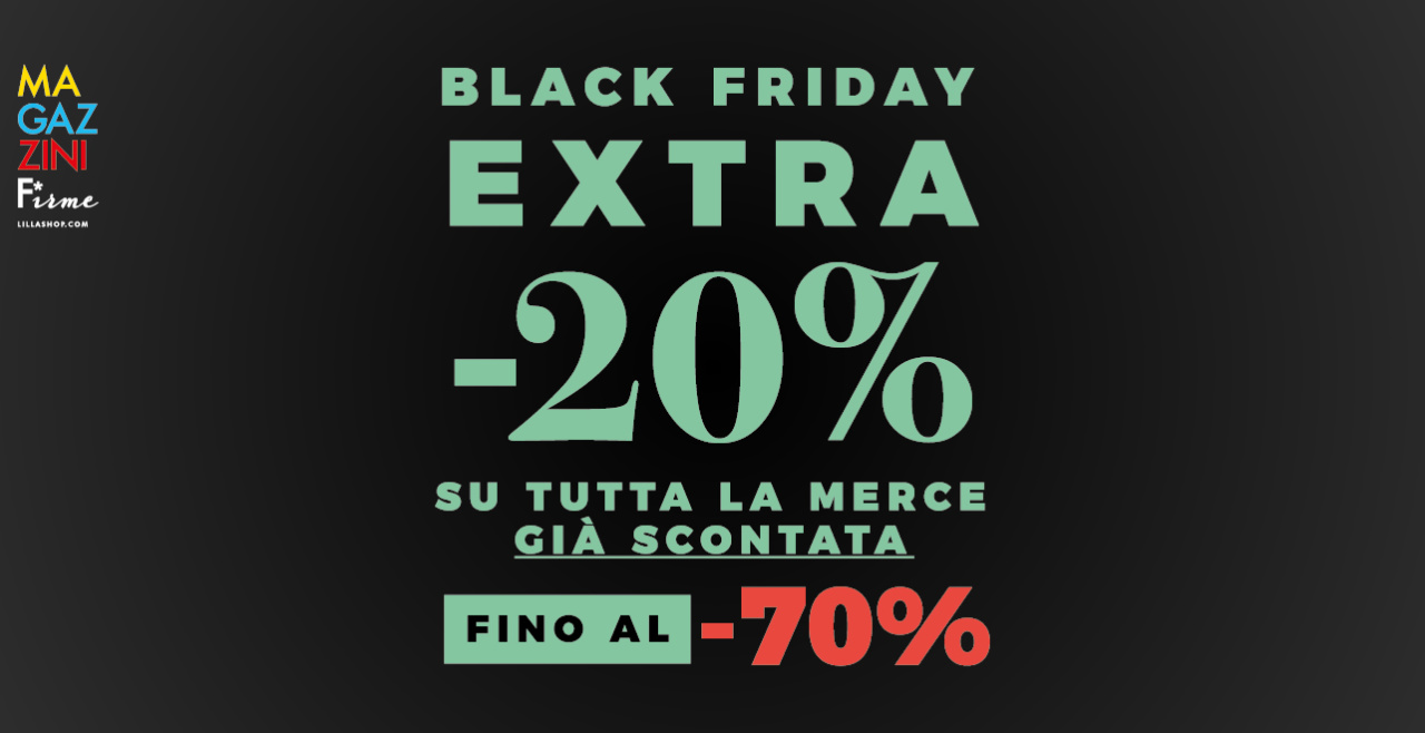 BLACK FRIDAY is NOW!