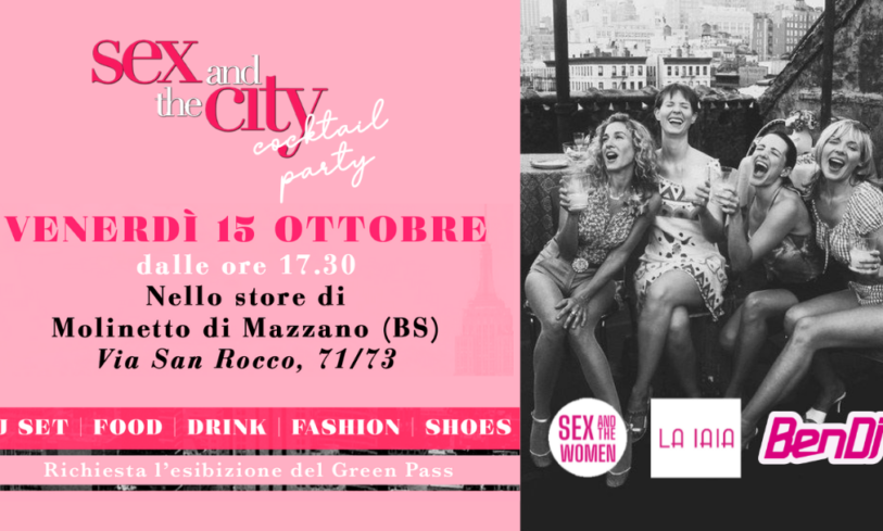 Sex and The City – Cocktail Party